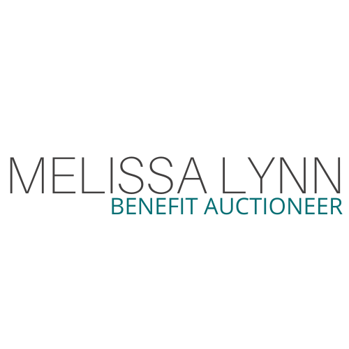 Melissa Lynn Benefit Auctioneer Logo