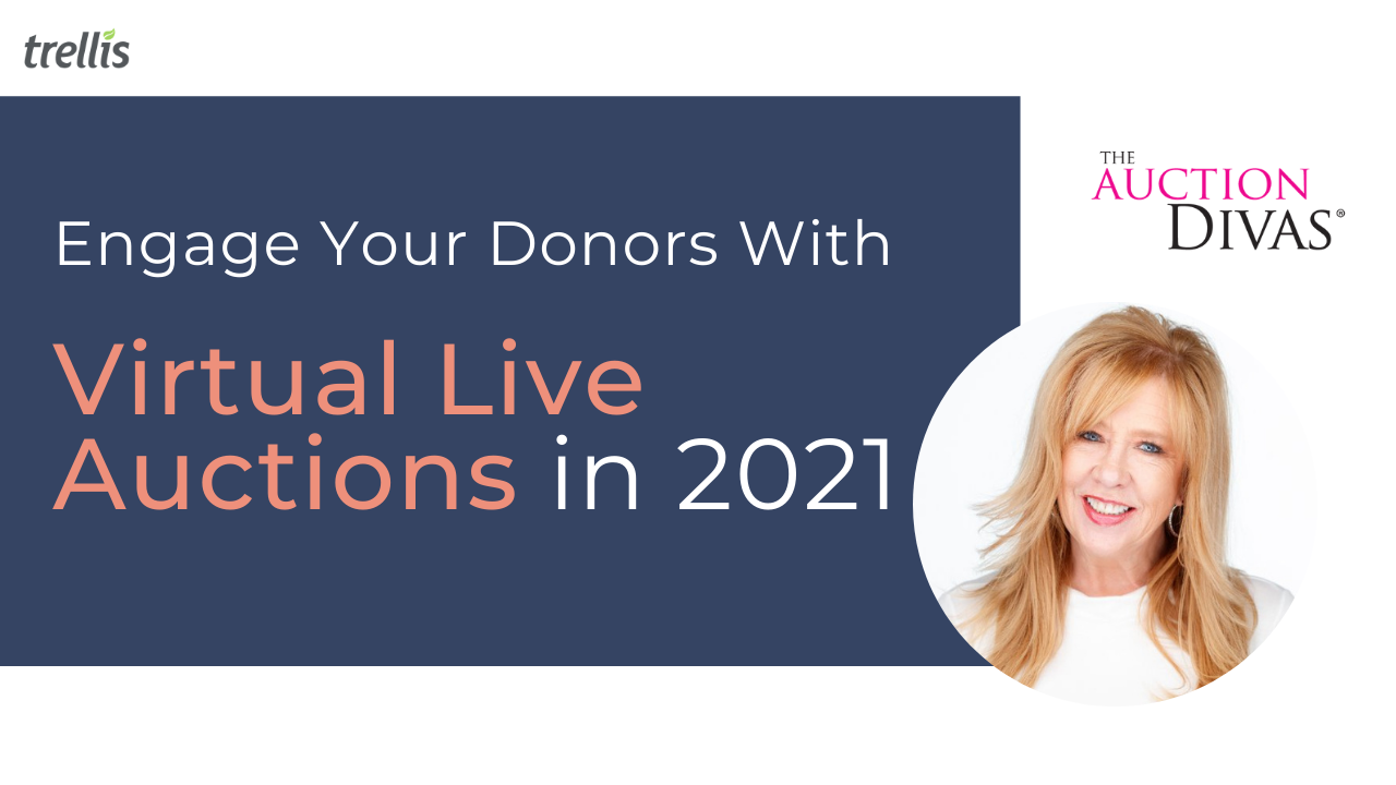 Engage Your Donors With Virtual Live Auctions in 2021