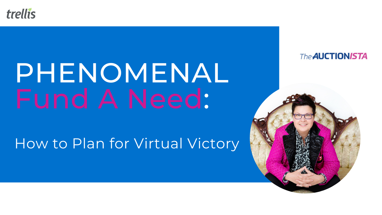 PHENOMENAL Fund A Need: How to Plan for Virtual Victory