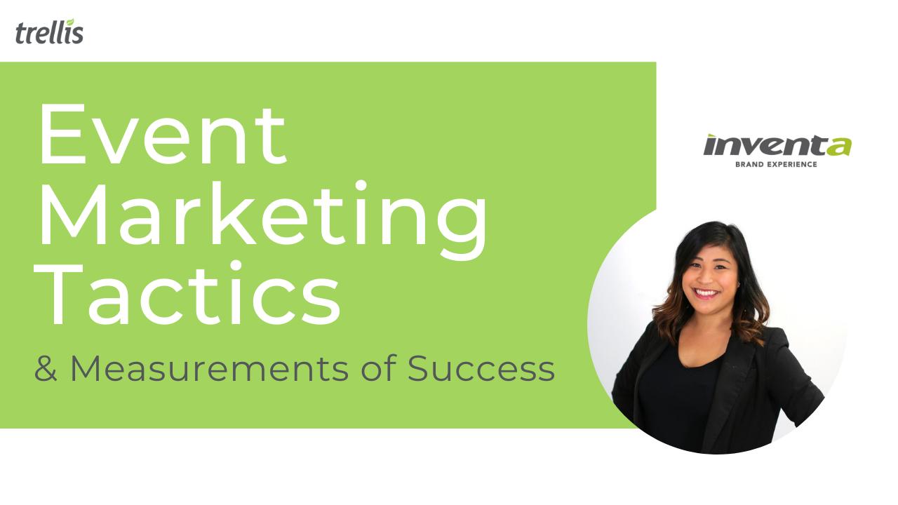 Event Marketing Tactics and Measurements of Success